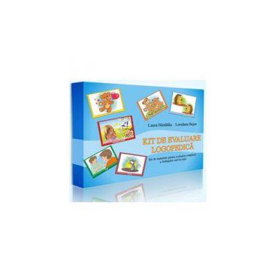 Laura Hardalau, Kit de evaluare logopedica - Set de materiale pentru evaluarea complexa a limbajului oral la copii