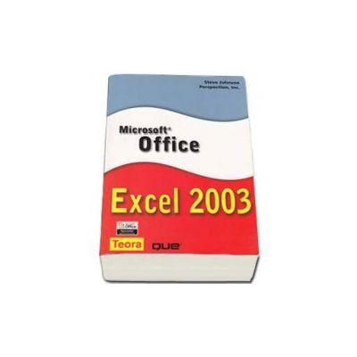 Microsoft Office Excel 2003 - Steve Johnson Perspection