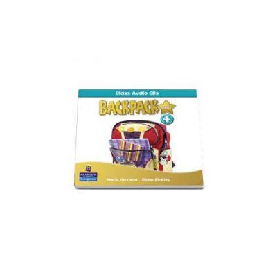 Backpack Gold 4 class audio CD (Mario Herrera)