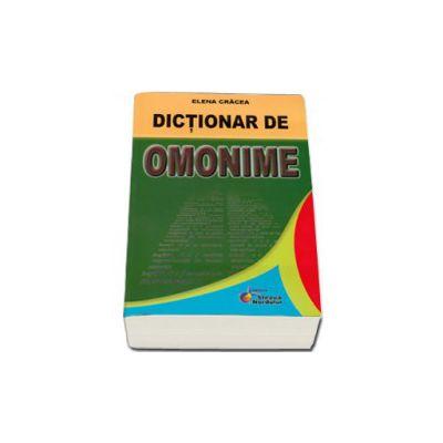 Cracea Elena, Dictionar de omonime