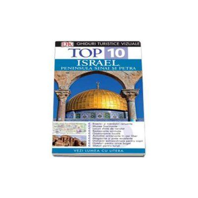 Ghid turistic vizual Israel, Peninsula Sinai si Petra - Colectia Top 10