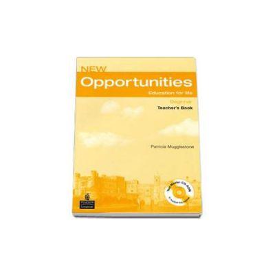New Opportunities Beginner Teachers Book Pack - CD (Patricia Mugglestone)