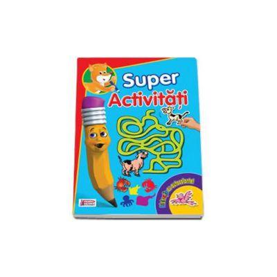 Super Activitati - Distractie cu autocolante I