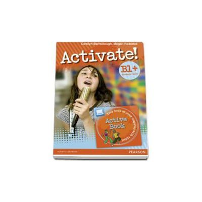Activate! B1, PLUS Level Students Book (with Active Book DVD-ROM)