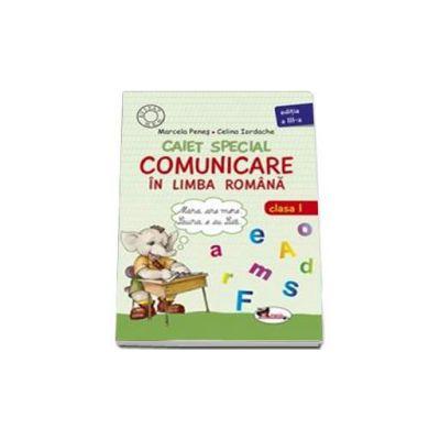 Caiet special de comunicare in limba romana, pentru clasa I (Elefantelul)