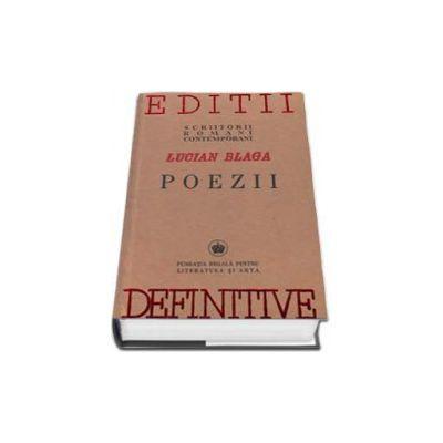 Lucian Blaga, Poezii (Editie, facsimil a lucrarii poezii aparuta in anul 1942)