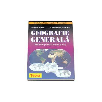 Geografie, manual pentru clasa a V-a. Daniela Strat, Constantin Furtuna