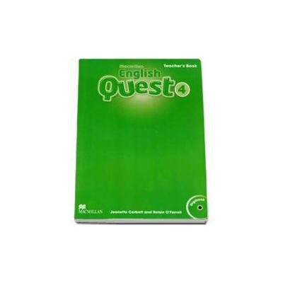 English Quest Level 4. Teachers Book - Digibook CD-Rom