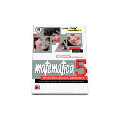 Matematica 2000 CONSOLIDARE 2014-2015 aritmetica, algebra, geometrie clasa a V-a partea I