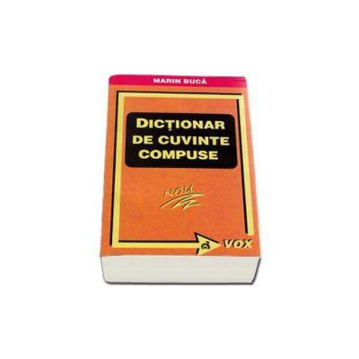 Marin Buca, Dictionar de cuvinte compuse
