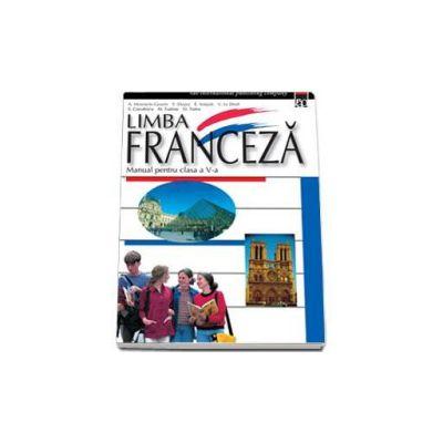 Limba franceza manual pentru clasa, a V-a - Steluta Coculescu