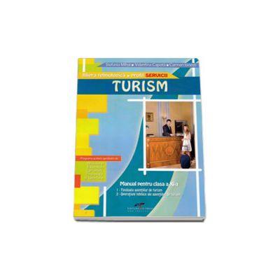 Turism manual pentru clasa a XI-a. Filiera tehnologica, profil SERVICII