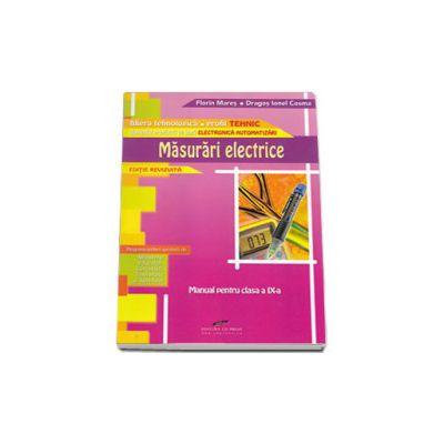 Masurari electrice. Manual pentru clasa a IX-a - Domeniul pregatirii de baza electronica automatizari