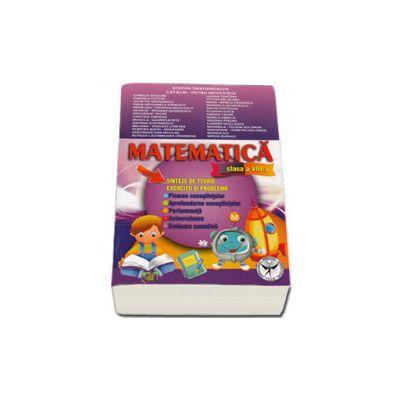 Matematica. Sinteze de teorie, exercitii si probleme. Clasa a VIII-a