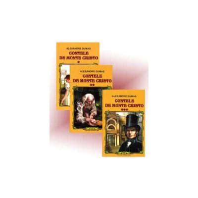 Alexandre Dumas, Contele de Monte Cristo - 3 Volume