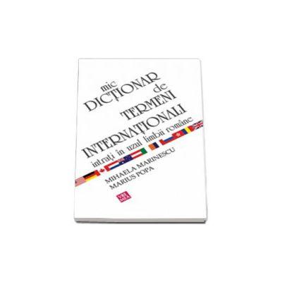 Mic dictionar de termeni internationali