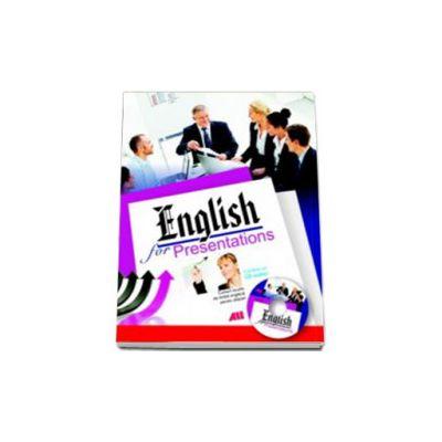 ENGLISH FOR PRESENTATIONS cu CD