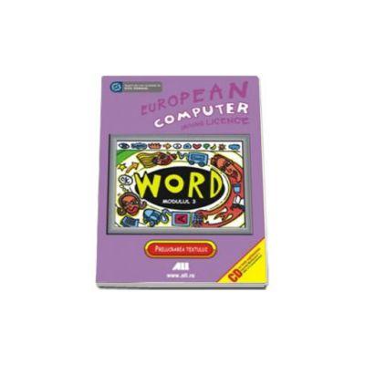 ECDL - Modulul 3 - Word. Nivel pentru avantati