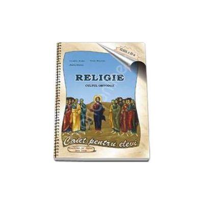 Caiet de religie, pentru clasa a IV-a (Camelia Muha)