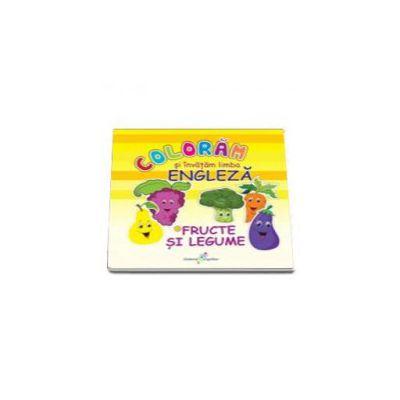 Roxana Geanta, Coloram si invatam limba engleza, Volumul 2 - Fructe si legume