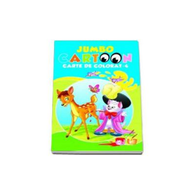 Jumbo cartoon - Carte de colorat 4