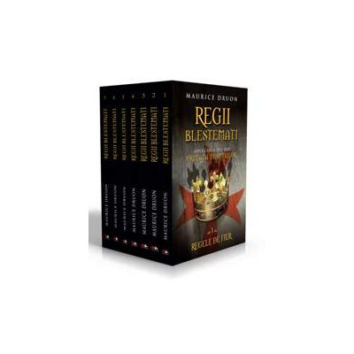 Maurice Druon, Pachet Regii blestemati - 7 volume