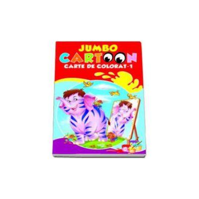 Jumbo Cartoon - Carte de colorat 1
