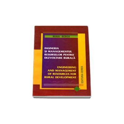 Ingineria si managementul resurselor pentru dezvoltarea rurala