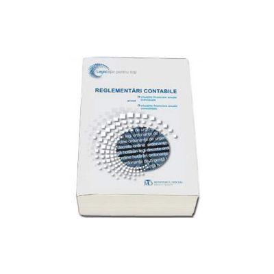 Reglementari contabile privind situatiile financiare anuale individuale si situatiile financiare anuale consolidate