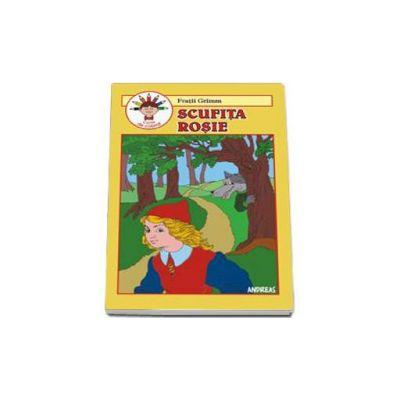 Fratii Grimm, Scufita rosie - Carte de colorat