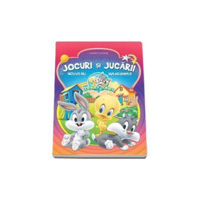 Magda Trandafir, Jocuri si Jucarii - Activitati si autocolante (Baby Looney Tunes)