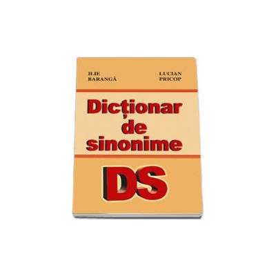 Dictionar de sinonime - Lucian Pricop