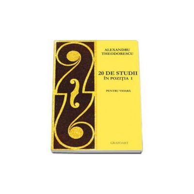 Alexandru Theodorescu, 20 de studii in pozitia I pentru vioara