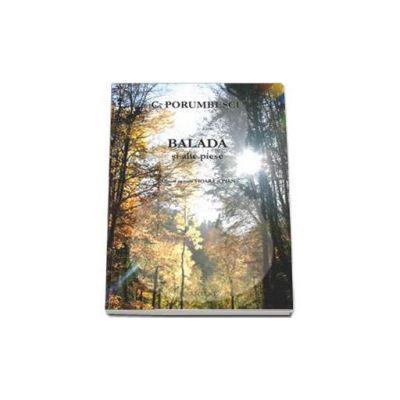 Ciprian Porumbescu, Balada si alte piese. Album pentru vioara si pian