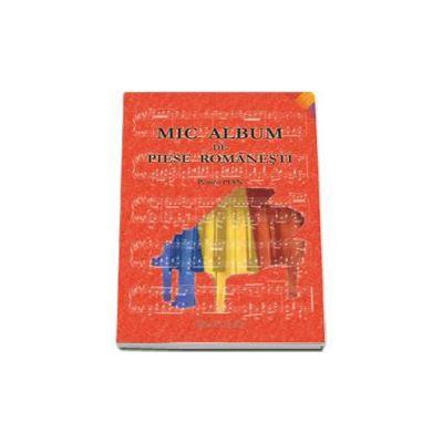 Mic album de piese romanesti pentru pian