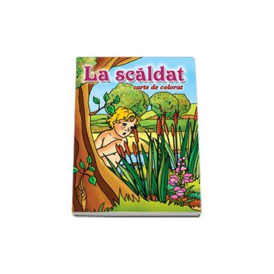 La scaldat - Carte de colorat, format 16, 5x23, 5 cm