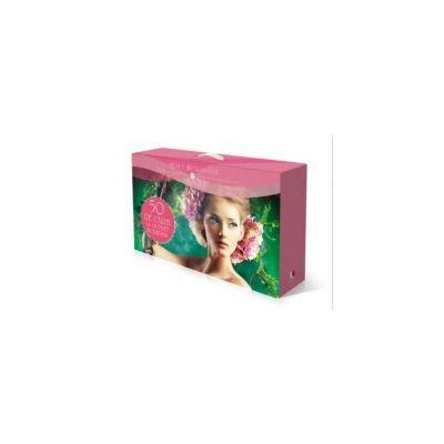 Cutie cadou carti romantice - Contine 50 de volume