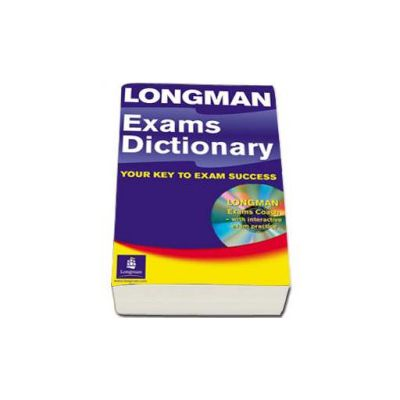 Longman Exams Dictionary Paper and CD ROM Update. Your key to exam success (Exams coach with interactive exam practice)