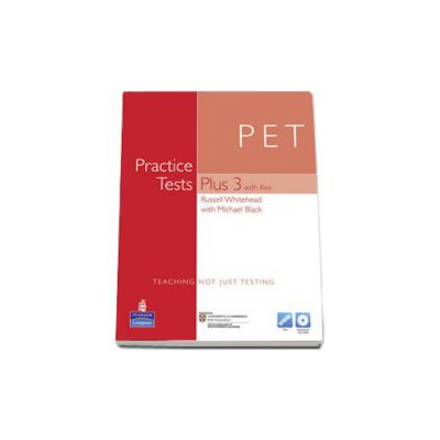 PET Practice Tests Plus 3 with Key and Audio CD Pack (Multi-Rom)