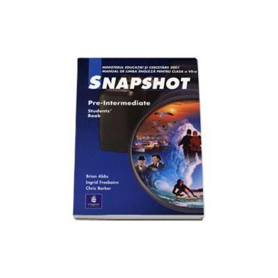 Snapshot. Manual clasa a VII-a L2 - Snapshot Pre-Intermediate