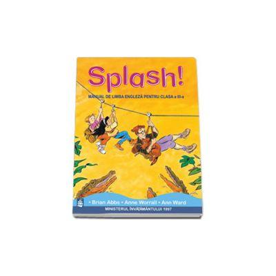 Manual de limba engleza Splash!, pentru clasa a III-a