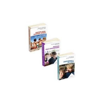 Colectia Parentaj, 3 carti de Michael Thompson - Crescandu-l pe Cain, Prieteni buni, dusmani aprigi si Educatie fara constrangeri