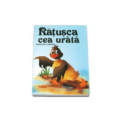 Ratusca cea urata - Carte de colorat, format 16, 5x23, 5 cm