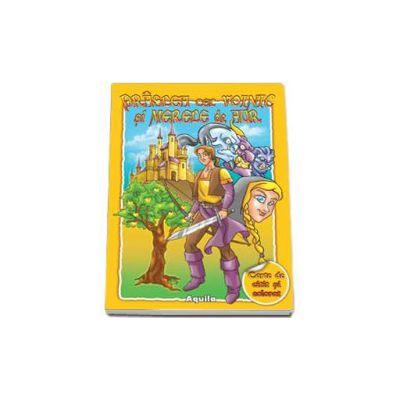 Praslea cel voinic si merele de aur. Carte de citit si colorat