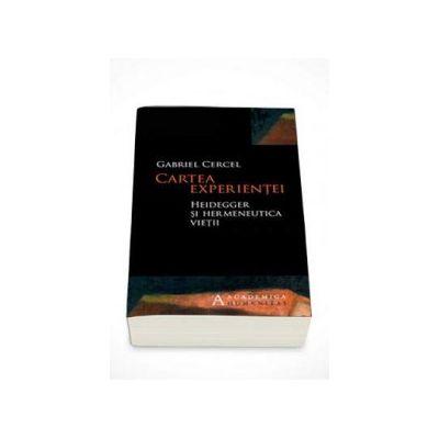 Gabriel Cercel, Cartea experientei Heidegger si hermeneutica vietii