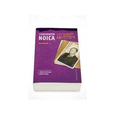 Dora Mezdrea, Constantin Noica in arhiva Securitatii