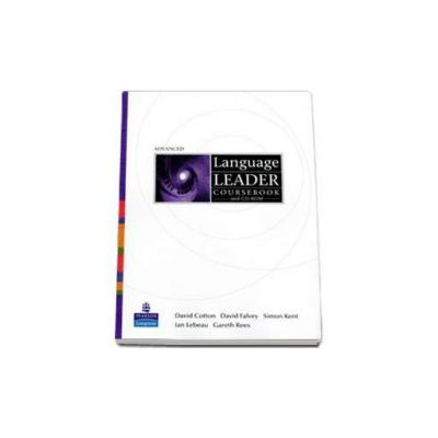 Language Leader Avanced level Coursebook and CD-Rom pack (David Cotton)