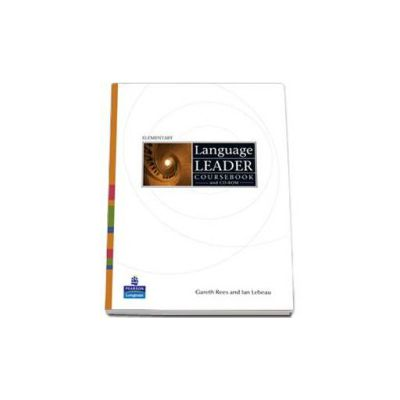 Language Leader Elementary level coursebook and CD-Rom pack (Gareth Rees)