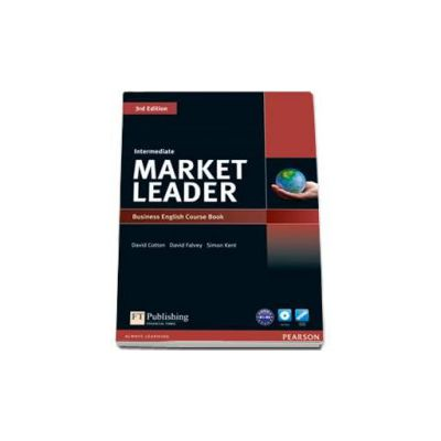 Simon Kent, Market Leader 3rd Edition Intermediate level Coursebook and DVD-Rom pack