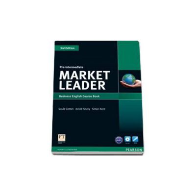 Market Leader Pre-Intermediate level 3rd Edition Coursebook and DVD-Rom pack (Simon Kent)